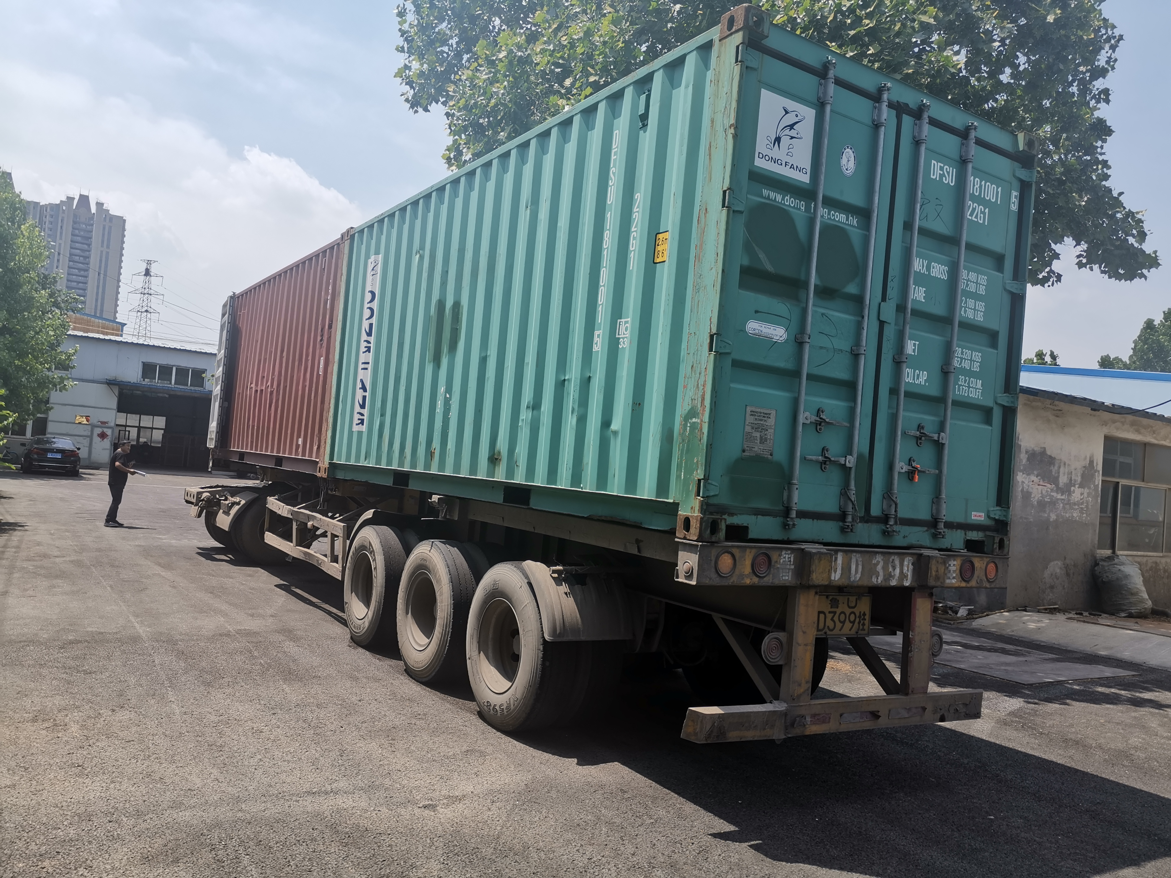 Shipped 2 containers to Russia on 2020.5.27